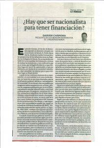 Publicado La verdad de Murcia 23-10-2018