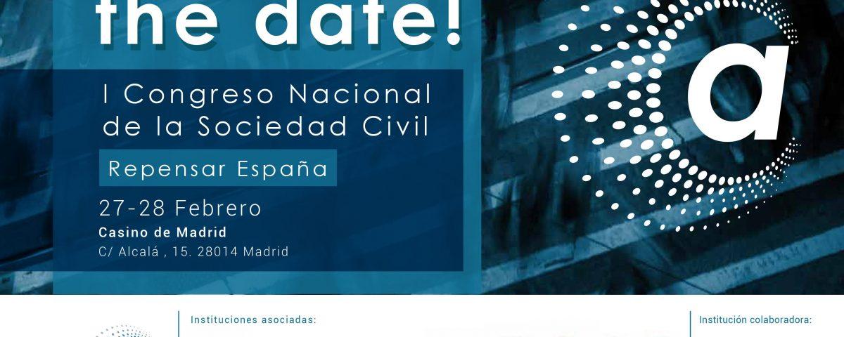Cartel I Congreso nacional de la Sociedad Civil